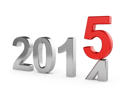 2015 New Year Concept